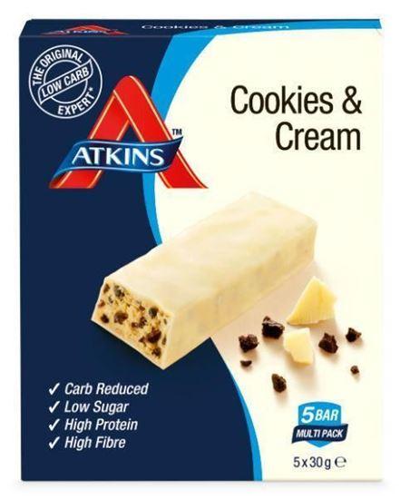 Atkins Cookies & Cream Reep 5x30g