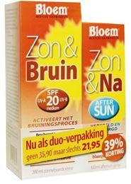Bloem Duo zon 100ml & na zon & bruin 200ml