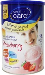 Weight Care Afslankshake Aardbei 436g