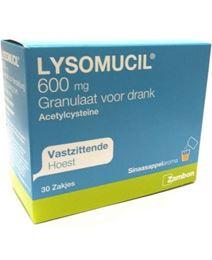 Lysomucil 600mg Zakjes 30st