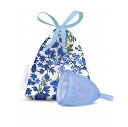 LadyCup Menstruatiecup blauw mt S