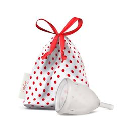 LadyCup Menstruatiecup transparant mt S