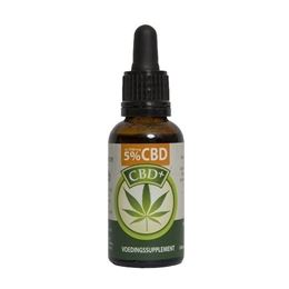 Jacob Hooy CBD Plus Olie 5% 30ml