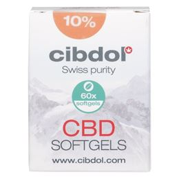 Cibdol 10% CBD softgels 60caps