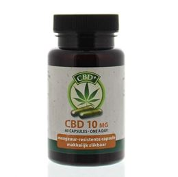 Jacob Hooy CBD Plus Capsules 10% 60caps