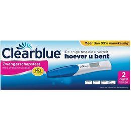 Clearblue Digitale Zwangerschapstest met Wekenindicator 2st