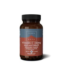 Terranova Vitamine C 250mg Complex 50vcaps