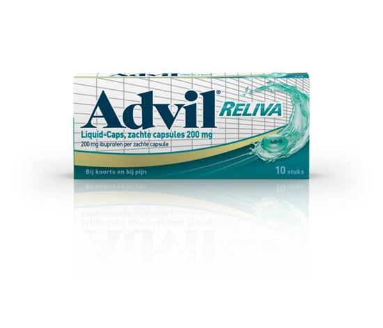 Afbeelding van Advil Liquid Caps 200 10caps